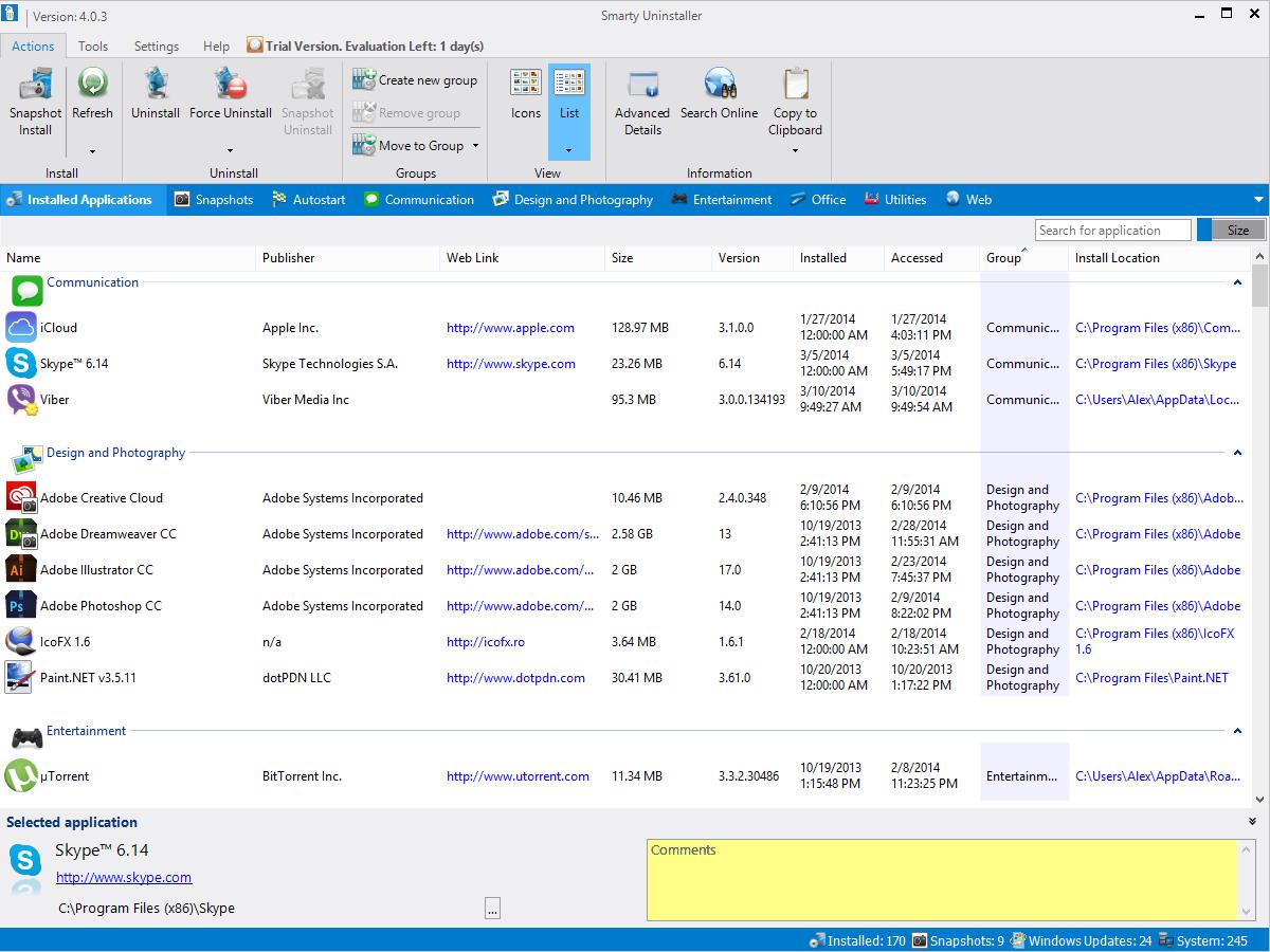 Resultado de imagen para Smart PC Solutions Smart Uninstaller 3